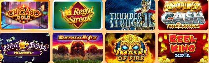 screenshot zeus bingo casino games