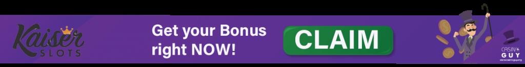 banner bonus info kaiser slots