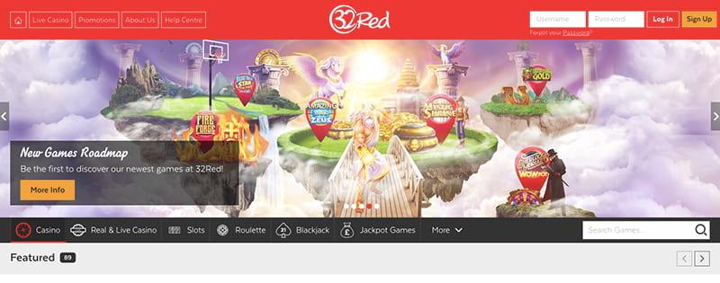 32 red screenshot interface