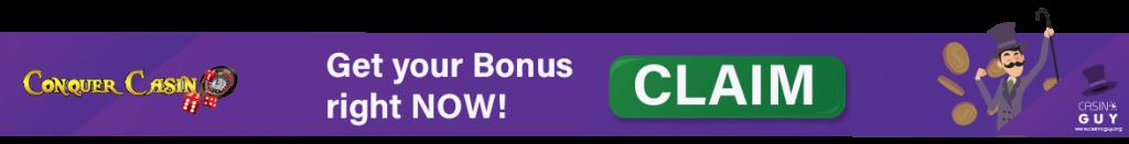 bonus banner conquer casino