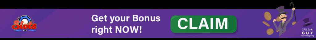 slots ltd casino banner bonus