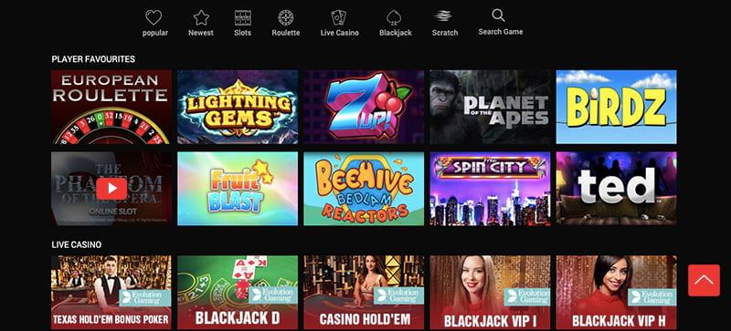 schmitts casino screenshot