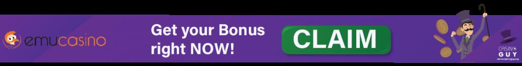 banner with cta emu casino
