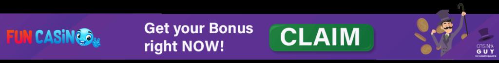 fun casino bonus banner