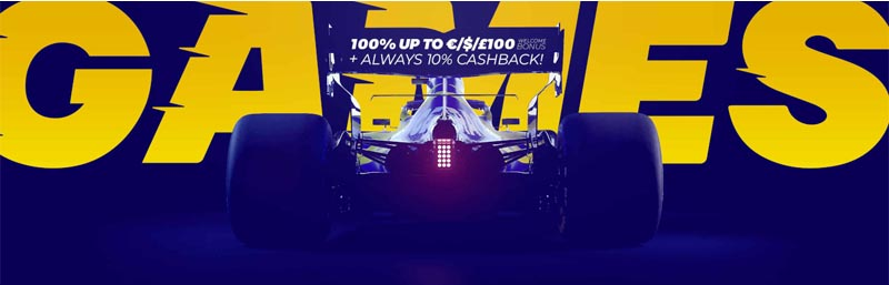 screenshot race casino bonus