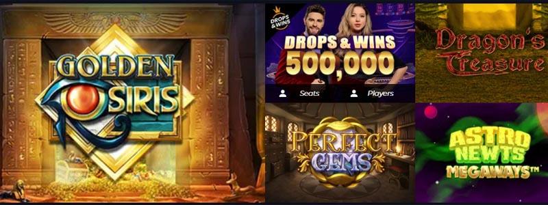 screenshot race casino games